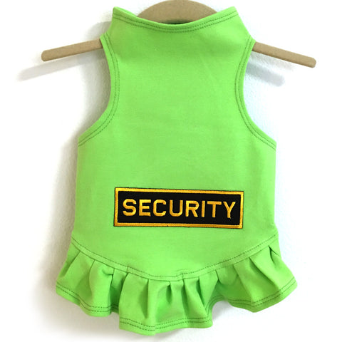 325D Daisy & Lucy Security Guard Flounce Dress