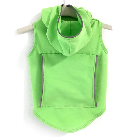 343 Daisy & Lucy Reflective Hoodie in Lime