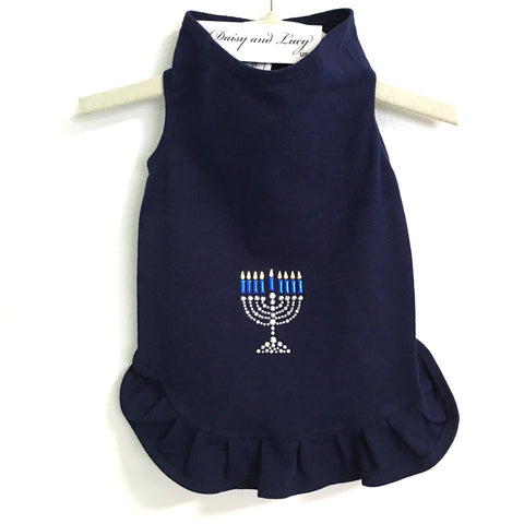 344D Daisy & Lucy Studded Menorah Dress
