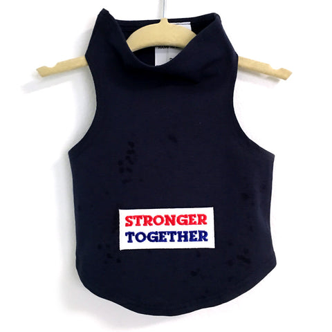352T Daisy & Lucy Stronger Together Dog Tank