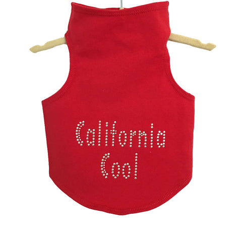 361T Daisy & Lucy Studded California Cool Pup Tank