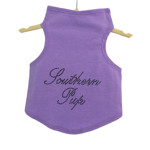363T Daisy & Lucy Studded Southern Pup Tank