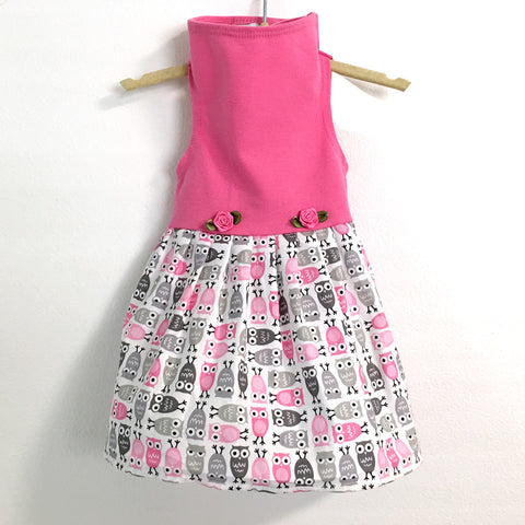 416 Daisy & Lucy Owl Dress