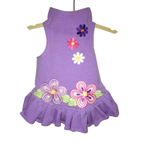 418D Daisy & Lucy Flower Power Flounce Dress