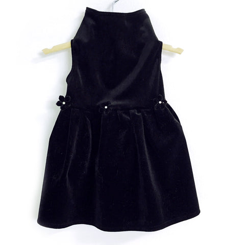 420 Daisy & Lucy Black Velvet Dress