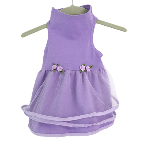 428D Lilac Tulle Dress