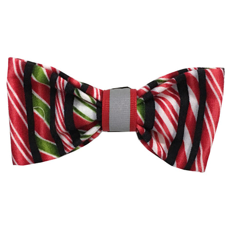 621 Barley's Red Ribbon Dog Bow Tie