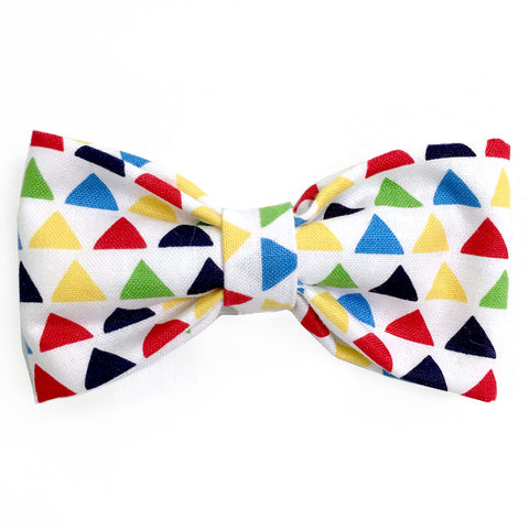 629 Barley's Modern Triangles Dog Bow Tie