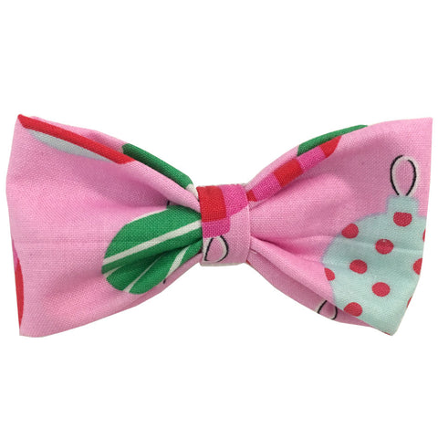 644 Barley's Christmas Ornaments Dog Bow Tie