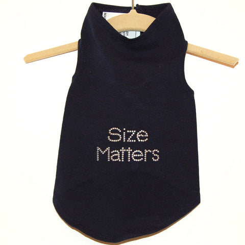 208T Daisy & Lucy Size Matters Dog Tank