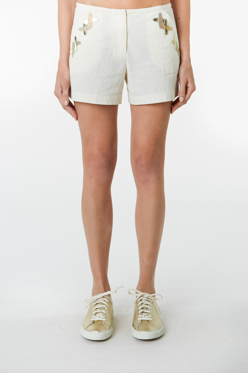 Alba Applique Shorts