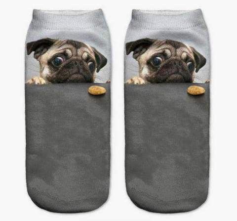 Pug Puppy Cookie 3D Ankiez