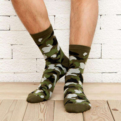 Stylish Camouflage Casual Crews