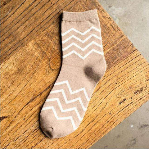 Wavy Casual Women Crews-Cheap Cool Socks-Free Shipping-$6|6dollarsocks