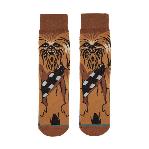 Chewbacca Crews Socks. $6 Only + Free Shipping! Star Wars Socks