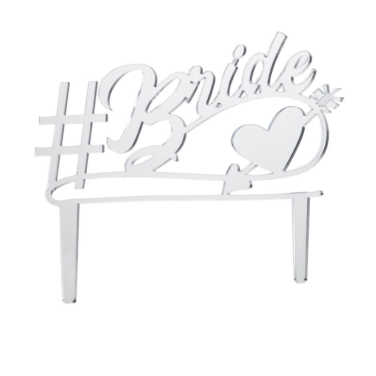 Bridal Shower Acrylic Cake topper