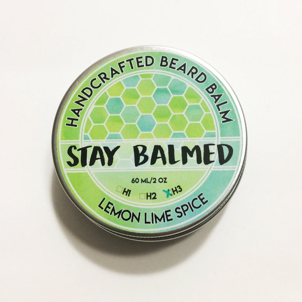 Beard Balm - Lemon Lime Spice
