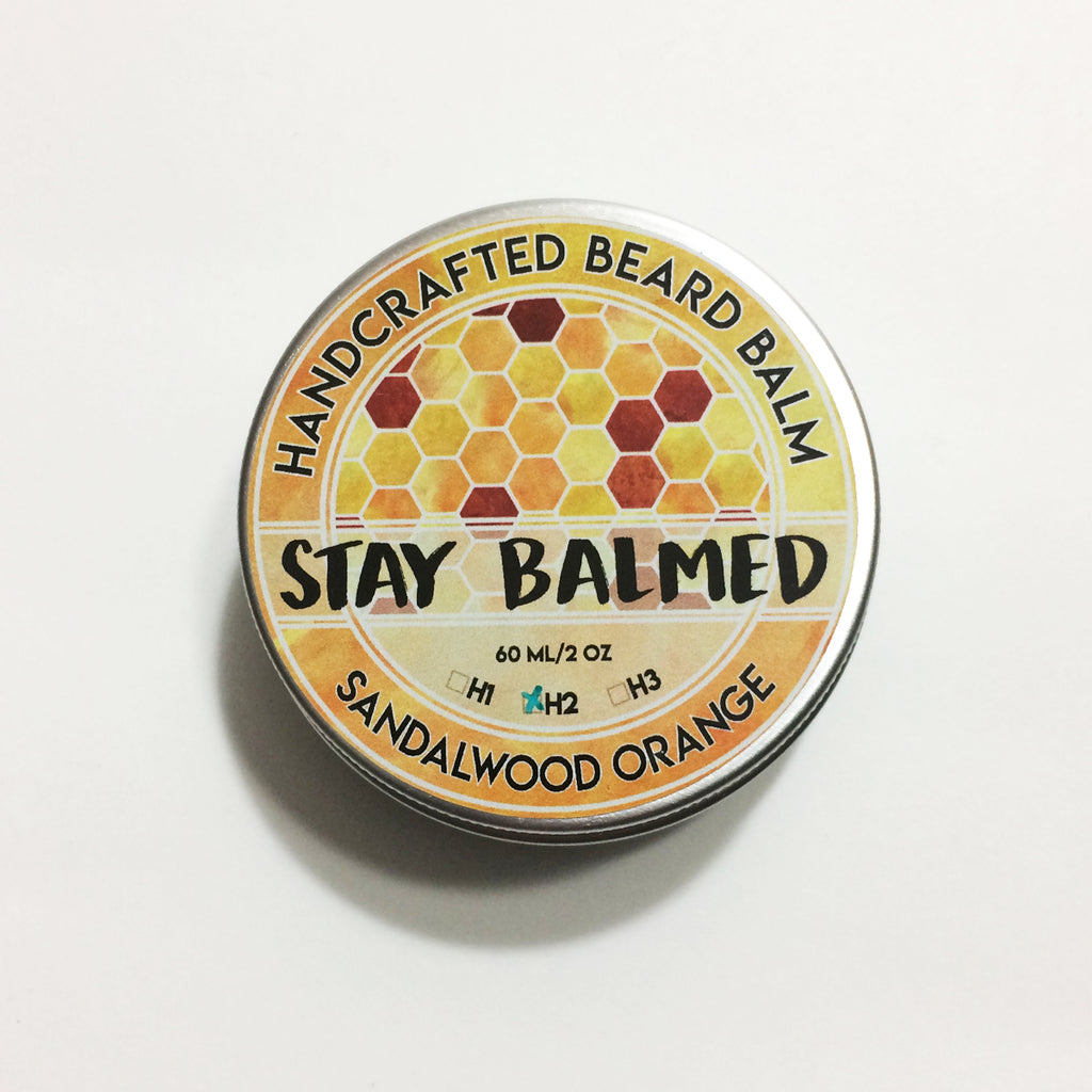 Beard Balm - Sandalwood Orange
