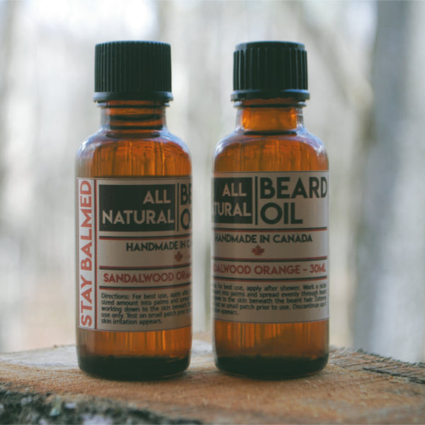 Beard Oil - Sandalwood Orange