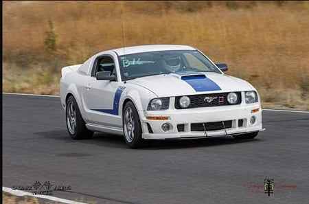 Brian Grennell 2008 Kenny Brown-equipped Roush 427R Mustang