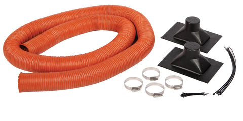 3-inch Universal Brake Duct Inlet and Silicone Hose Kit