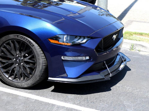 Ford Mustang Front Wind Splitter 2018-Up (with Performance Package)