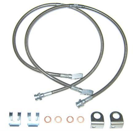 Baer Stainless Steel Front Brake Line Kit for 1999-2004 IRS Cobra Kenny Brown Performance