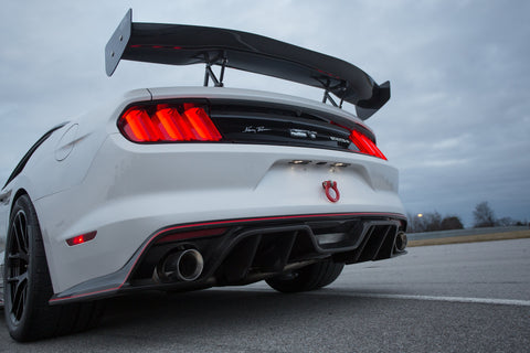 Rear Wing Club Sport II Options 2015-2021 Mustang S550