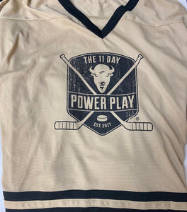 Vegas Gold Jersey (Pediatric Cancer)