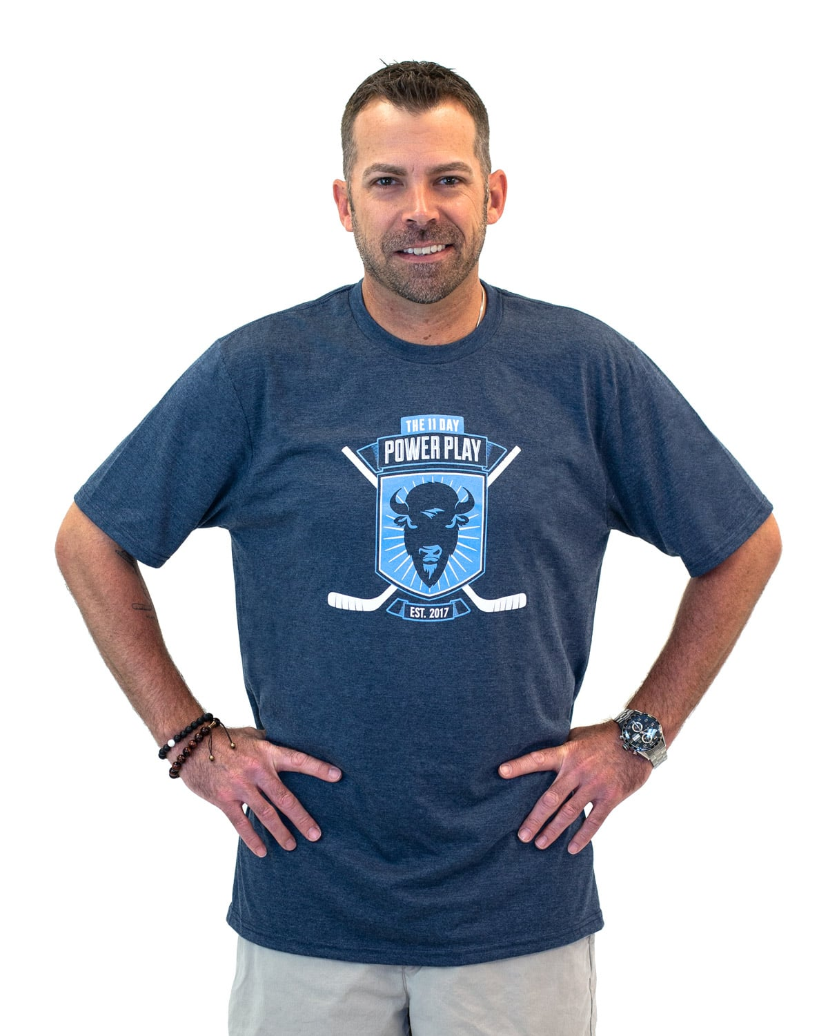 Men's 2018 T-Shirt (Blue)