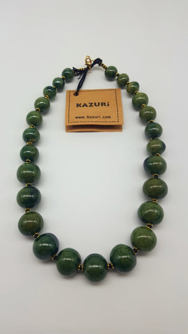 Kazuri Beads Necklace Mini Tango 18 inch Festive