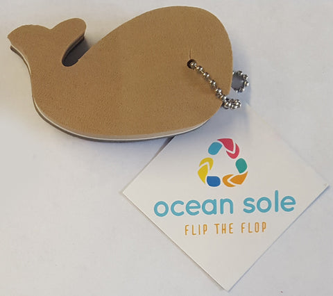 Ocean Sole Whale Key Chain