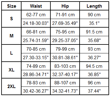 Gonunu #Lift #Squat Leggings Size Guide