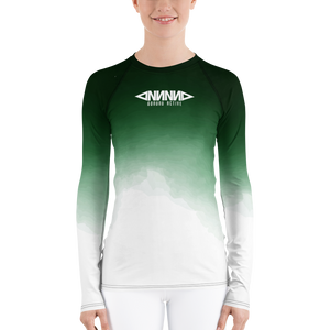 Faded Green Rash Guard - GONUNU