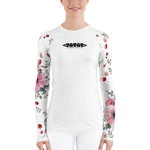 Flowers Rash Guard - GONUNU