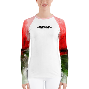 Red Roses Rash Guard - GONUNU
