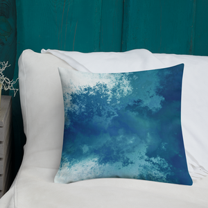 Turquoise Waves Pillow - GONUNU