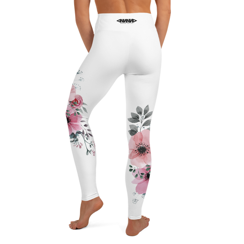 Flower Yoga Leggings - GONUNU