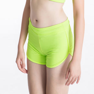 Green Jogger Shorts - GONUNU