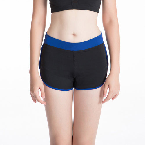 Black and Blue Jogger Shorts - GONUNU
