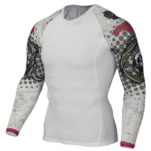 Barbed Compression Shirts - GONUNU