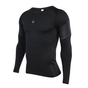 Black Long Sleeve T-Shirt - GONUNU