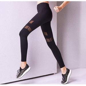 AZLK Black Mesh Leggings