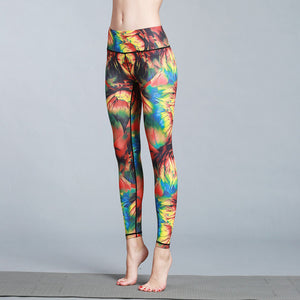 Rainbow Flowers Leggings - GONUNU