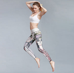 Leggings - Face Art Leggings - GONUNU