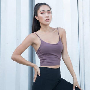 Thin Strap Crop Top - GONUNU