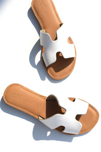 Havana Sandals - White
