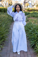 Serengeti Wide Leg Pants (Belted)