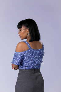 Blossom Cold Shoulder Shirt