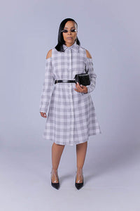 Angel Shirt Dress